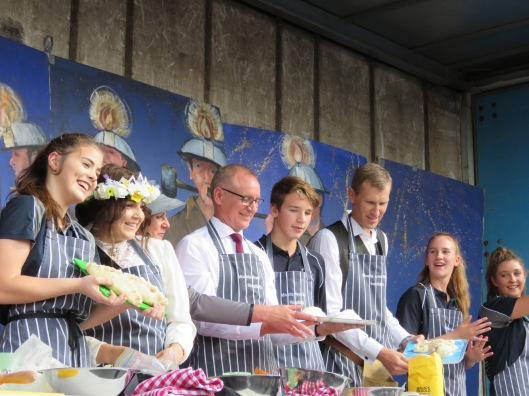 Pasty Bake-off with Premier Jay Weatherill, Kernewek Lowender, 2017